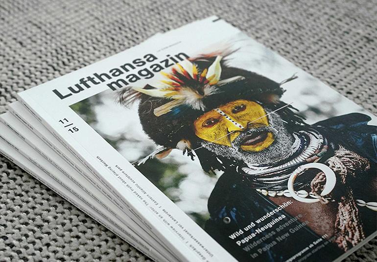 Regina Baierl: Lufthansa Magazin