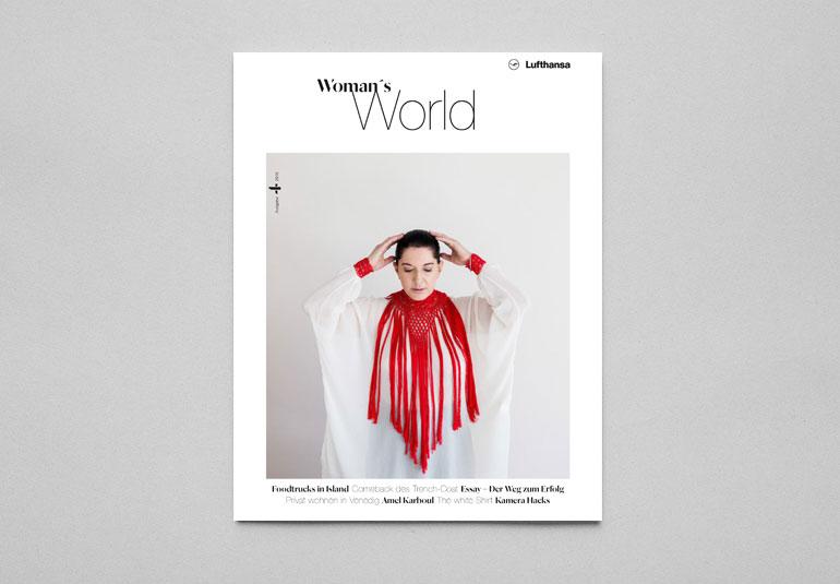 Regina Baierl: Lufthansa Woman´s World