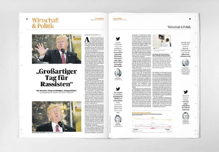Regina Baierl: Handelsblatt