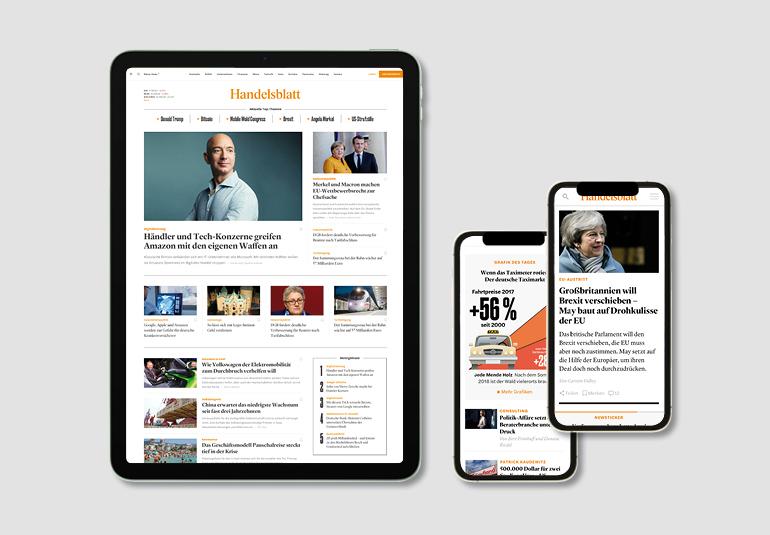 Regina Baierl: Handelsblatt Relaunch Digital