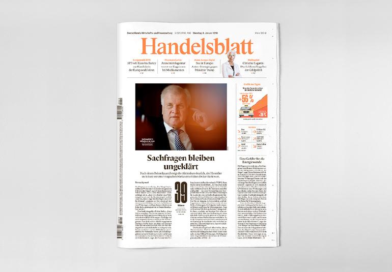Regina Baierl: Handelsblatt Relaunch