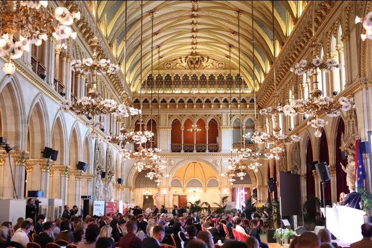 Regina Baierl: European Newspaper Congress in Wien