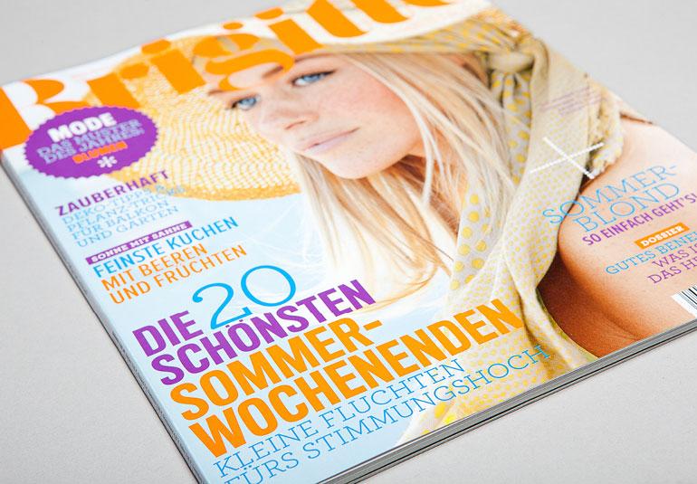 Regina Baierl: Brigitte-Cover