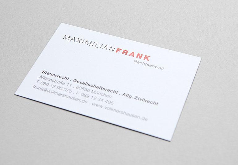 Regina Baierl: Maximilian Frank